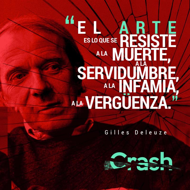 4 de noviembre. Aniversario luctuoso de Gilles Deleuze