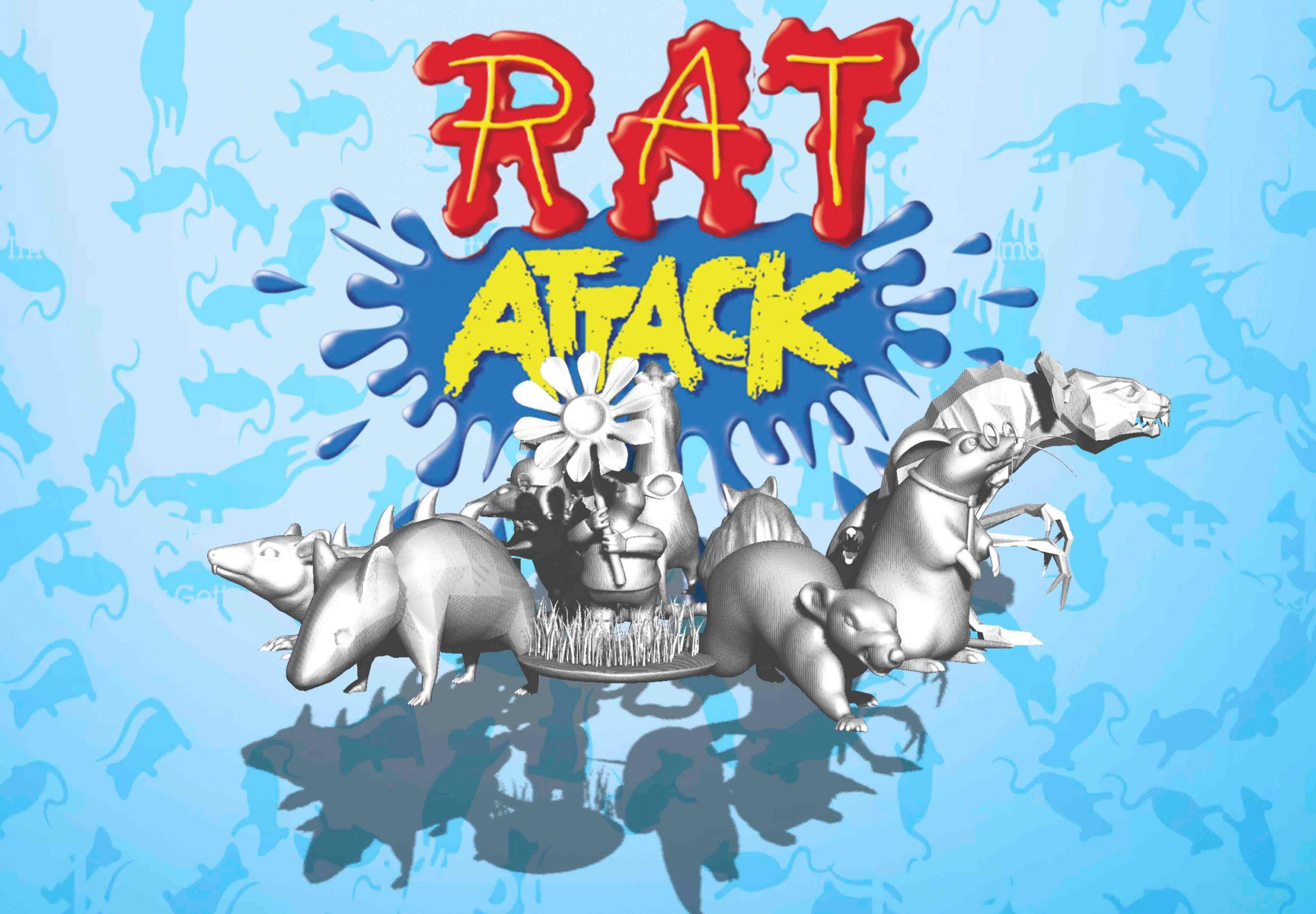 Rat Attack: no necesitas ser un experto para ser un gran artista